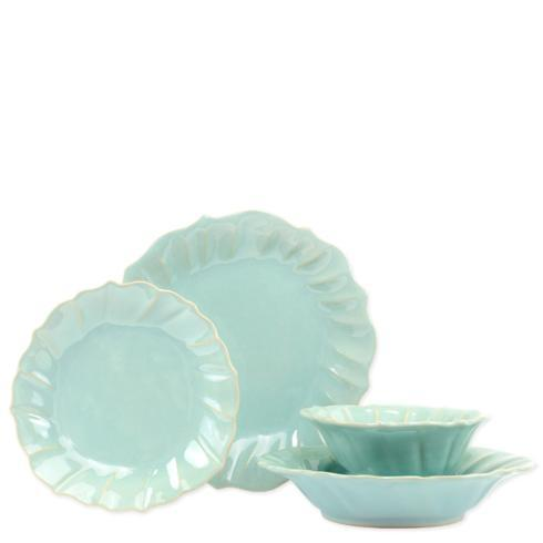 $198.00 Ruffle Four-Piece Place Setting