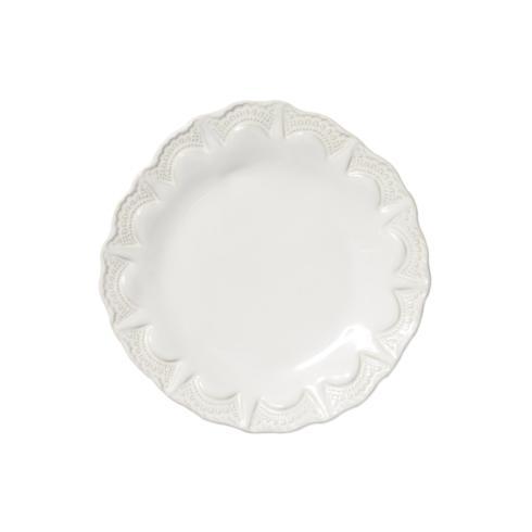 VIETRI Incanto Stone White Lace Salad Plate $48.00