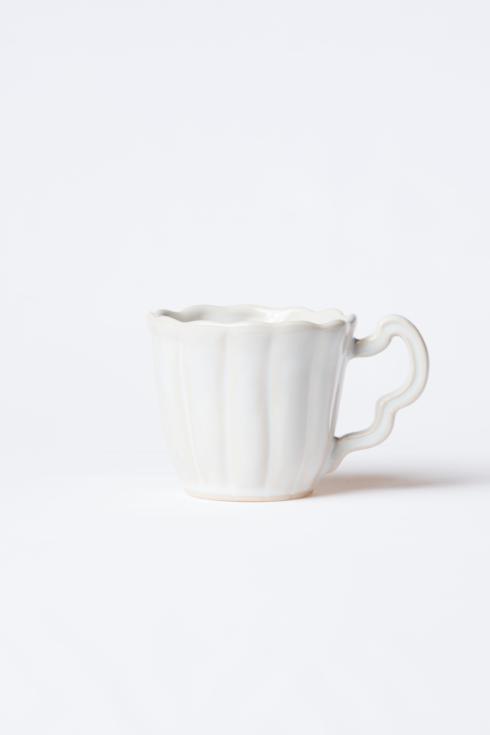 $46.00 Linen Scallop Mug