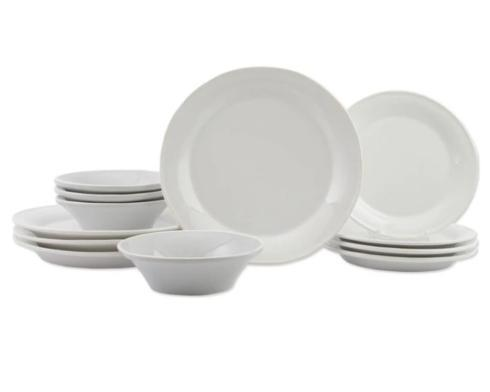 $224.00 White 12-Piece Place Setting