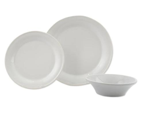 $56.00 White 3-Piece Place Setting