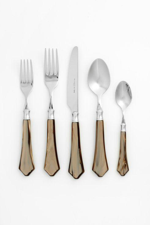 Vietri   Verona Taupe 5-pc Place Setting  $109.00