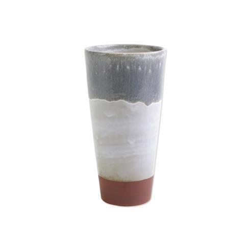 Viva by Vietri Viva Garden Ombre Gray Tall Vase $40.00