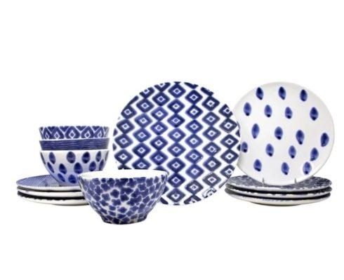 Assorted 12-Piece Place Setting