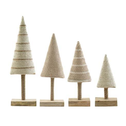 $106.00 Alberini Assorted Natural Trees - Set of 4