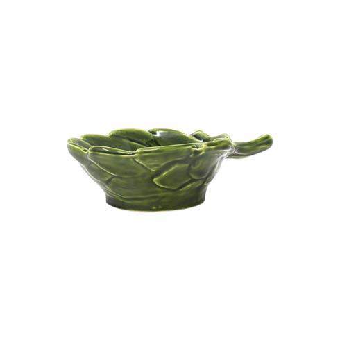 VIETRI  Artichokes Green Figural Small Bowl $40.00