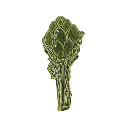 $46.00 Green Figural Spoon Rest