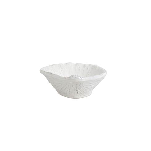 $49.00 White Small Clam Shell