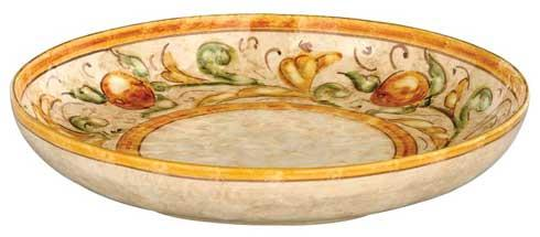 Shallow Round Serving Bowl