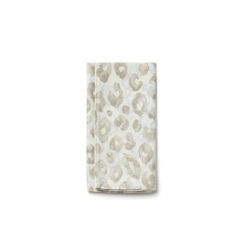 VIETRI  Accent Napkins Aqua Animal Print Napkin $8.00