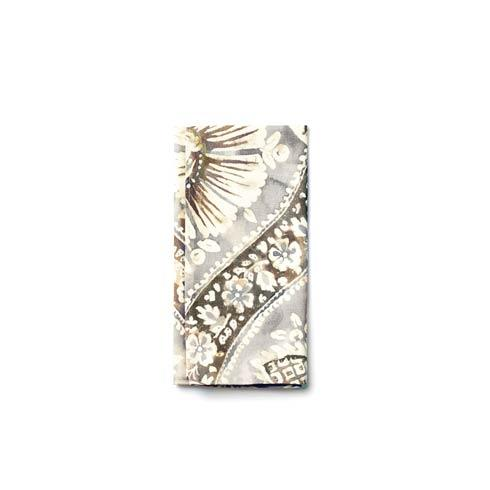 Vietri  Accent Napkins Gray Painted Damask Napkin $8.00