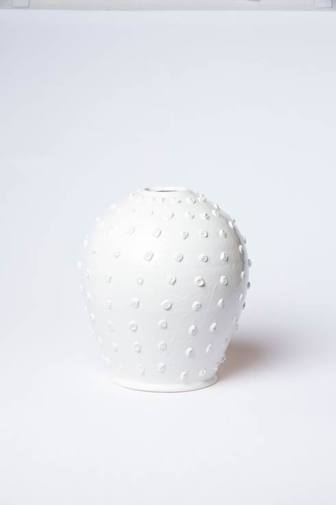VIETRI  Artistic Edges Dotted Medium Vase $298.00