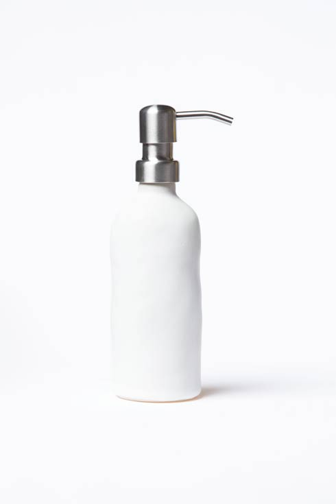 $98.00 White Matte Soap Dispenser