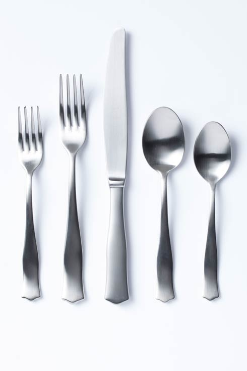 $74.00 Matte Five-Piece Place Setting