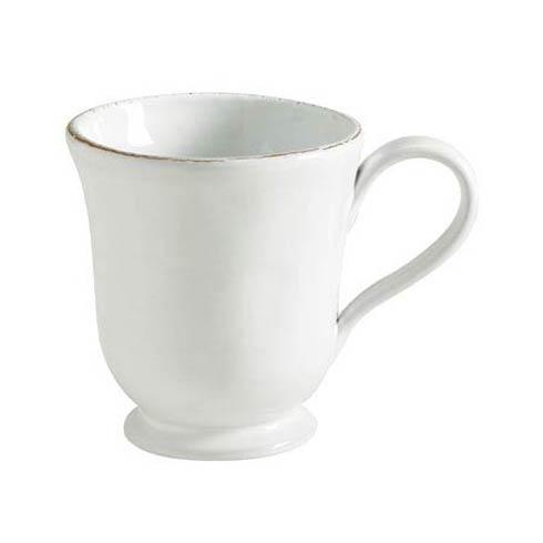 Vietri Bianco White Footed Mug $38.00