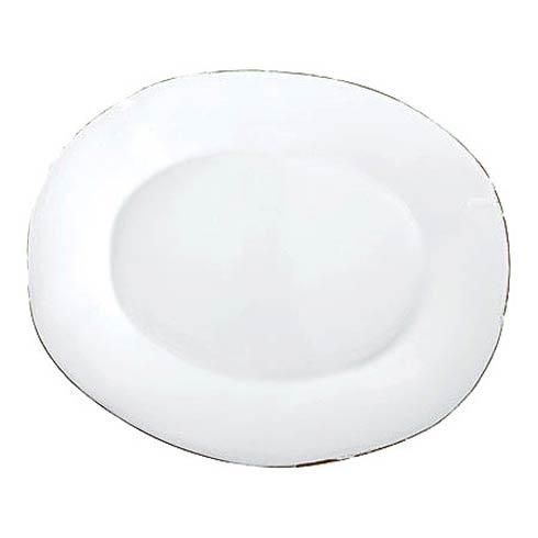 Vietri Bianco White Large Oval Platter $153.00