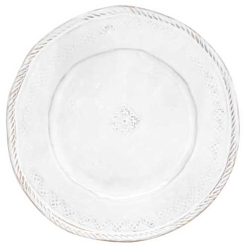 Vietri Bellezza White White Dinner Plate $36.00