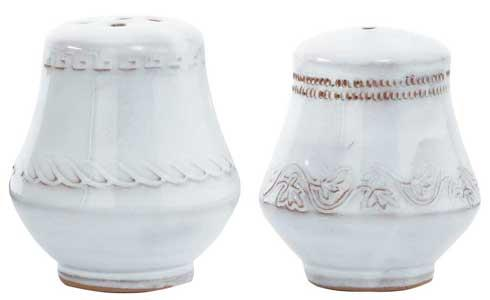 Vietri Bellezza White Salt & Pepper $52.00