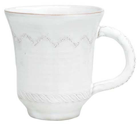Vietri Bellezza White White Mug $34.00