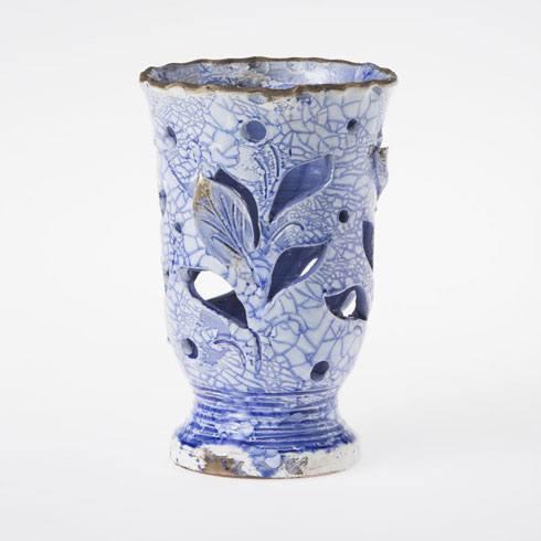 Vietri Carrara Cobalt Candleholder $150.00