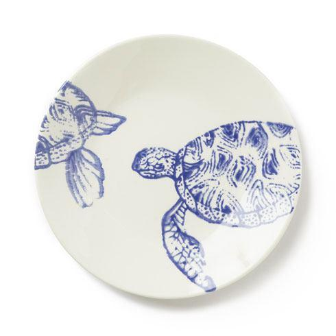 Vietri Costiera Blue Turtle Salad Plate $36.00