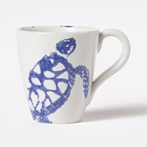 Vietri Costiera Blue Turtle Mug $38.00