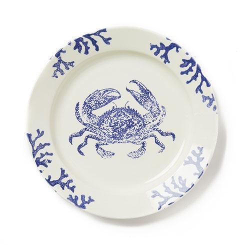 Vietri Costiera Blue Crab Round Platter $116.00