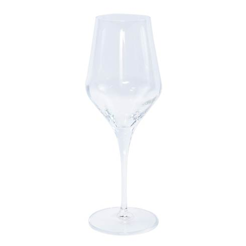 VIETRI  Contessa Clear Water Glass $25.00