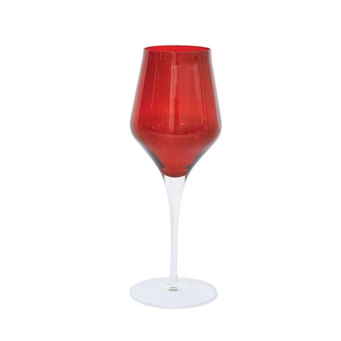VIETRI  Contessa Red Wine Glass $25.00