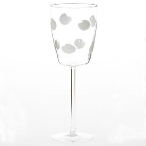 Vietri  Drop Glass White Wine Glass $65.00