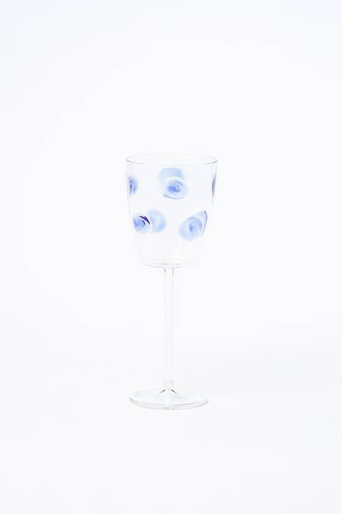 $64.00 Wine Glass - Blue