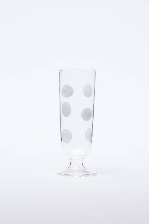 $65.00 White Champagne Glass