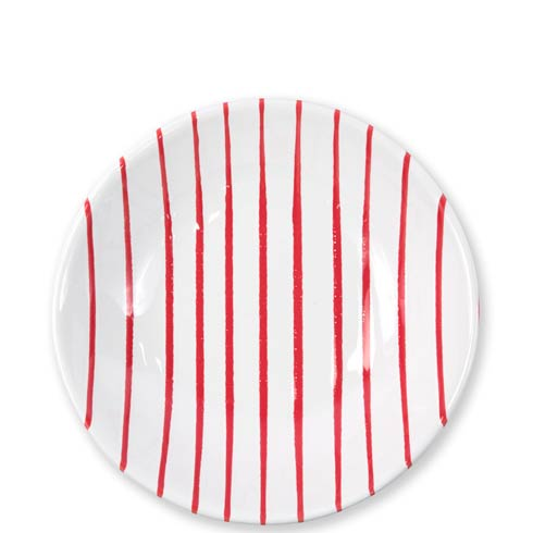 Vietri  Stripe Red Pasta Bowl $40.00