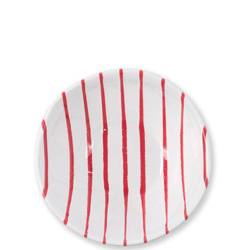 Vietri  Stripe Red Cereal Bowl $38.00