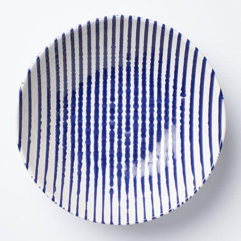Vietri Net & Stripe Stripe Stripe Medium Serving Bowl $84.00