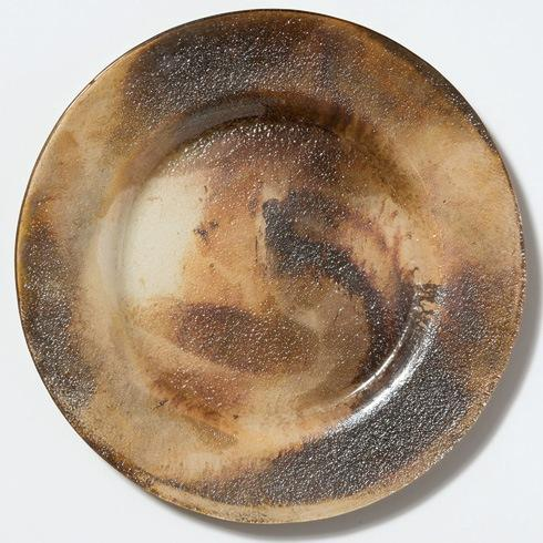 $48.00 Earth Glass Rimmed Service Plate/Charger