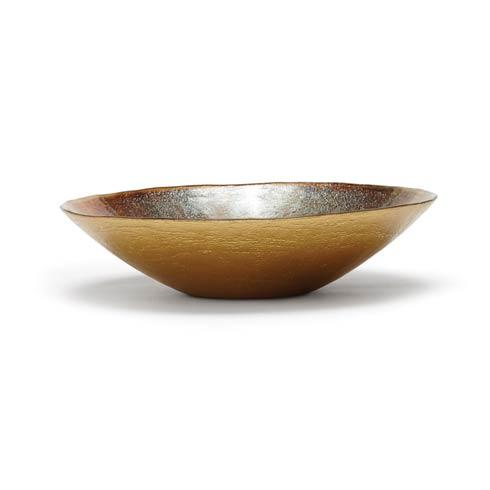 $88.00 Earth Glass Medium Serving Bowl