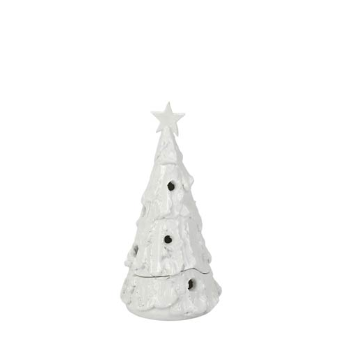$239.00 Foresta Bianca Small Flocked Tree with Star