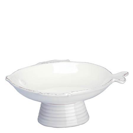 $56.00 White Small Footed Compote Bowl