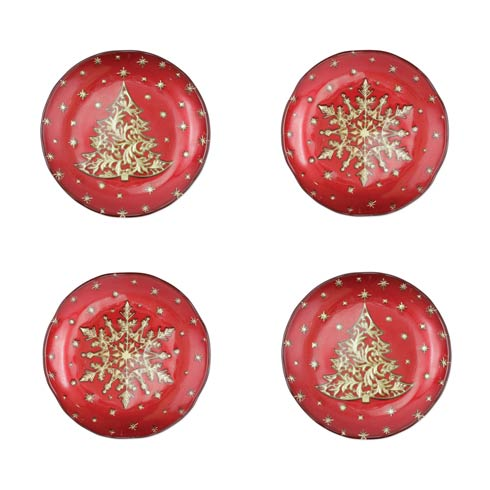 $89.00 Cocktail Plates - Set of 4