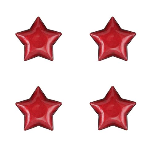 Red Star Dish - Set of 4