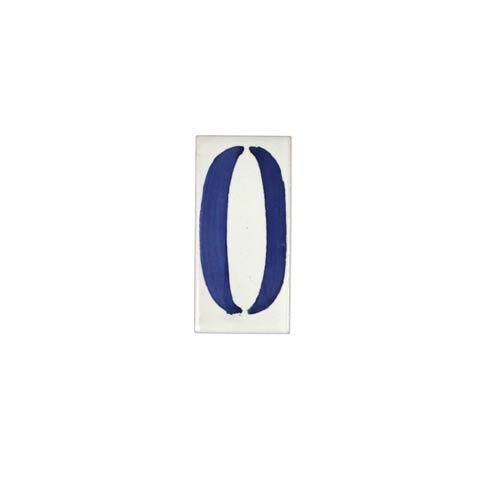 $10.00 Number 0 Tile