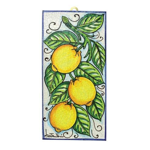 $174.00 Lemon Vine Wall Plaque