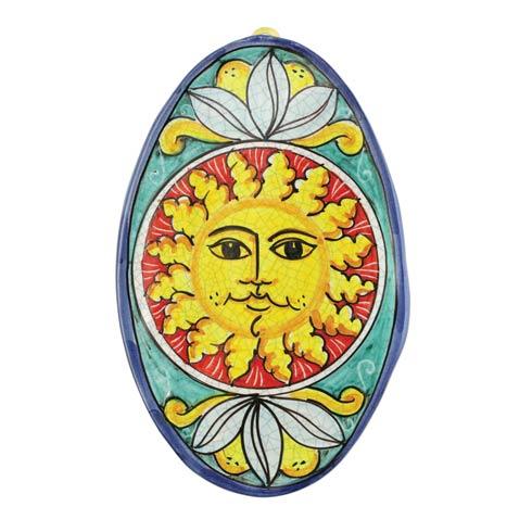 VIETRI  First Stones Sun Oval Wall Plaque $99.00