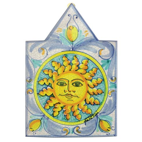 VIETRI  First Stones Pointed Sun Wall Plaque $144.00