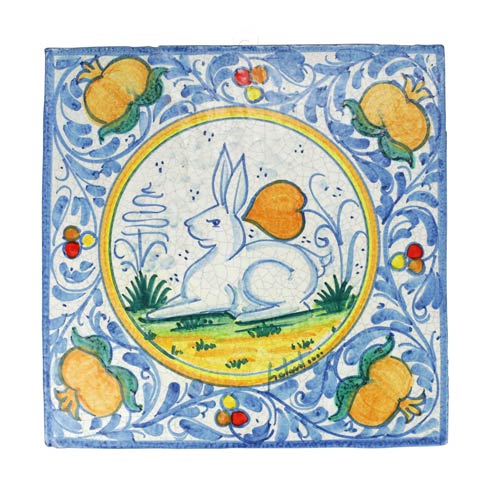 $209.00 First Stones Rabbit Wall Plaque