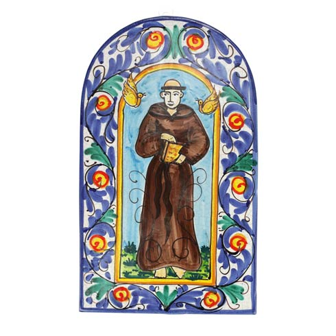 $249.00 First Stones Saint Francis Wall Plaque