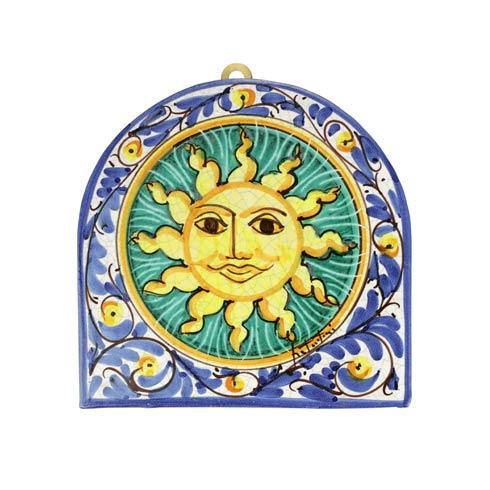 $129.00 First Stones Sicilian Sun Wall Plaque