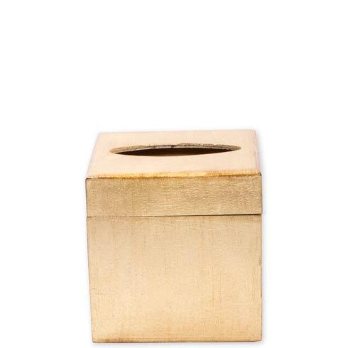 $98.00 Florentine Wooden Accessories Gold Tissue Box