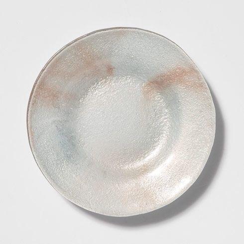 VIETRI  Glacier Glass Salad Plate $35.00